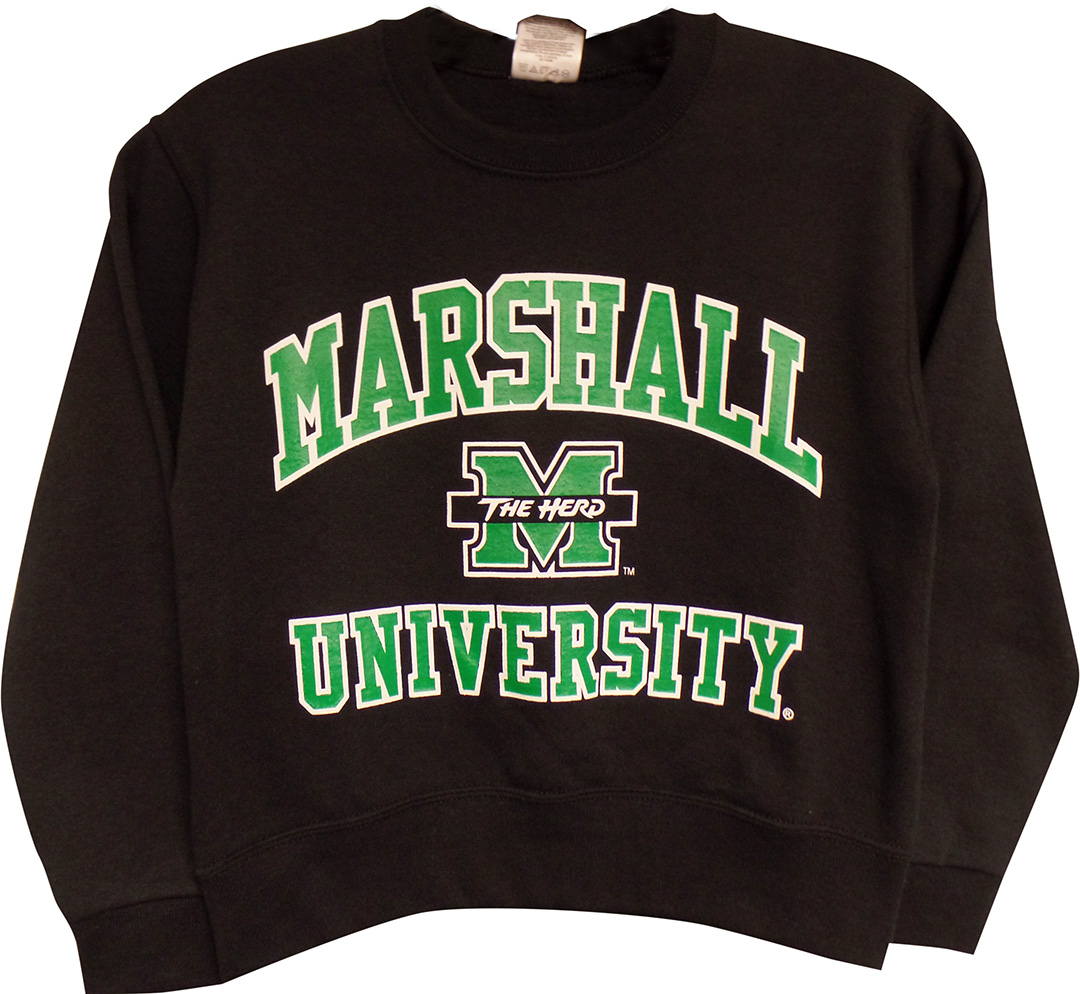 MU Arched 2015 Black <br> Youth Sizes <br> Jerzeez Crew $23.99 <br>Available in Hoodie $28.99
