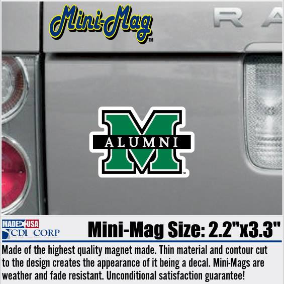 MU ALUMNI DECAL <BR>$4.99