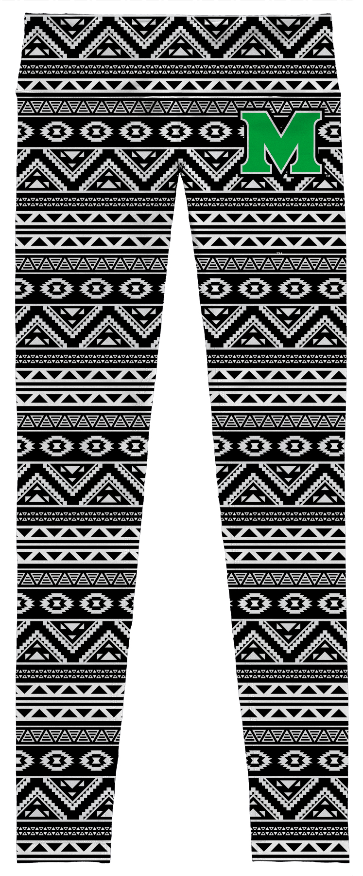 25900 <br>MU Aztec Leggings <BR> $39.99
