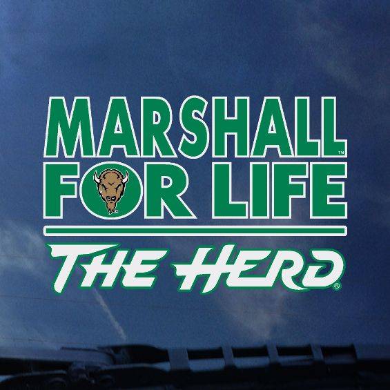 Marshall for Life  window decal    <br> 25670   <br> $4.99