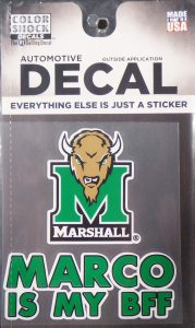 Marco BFF Decal <br> $5.99