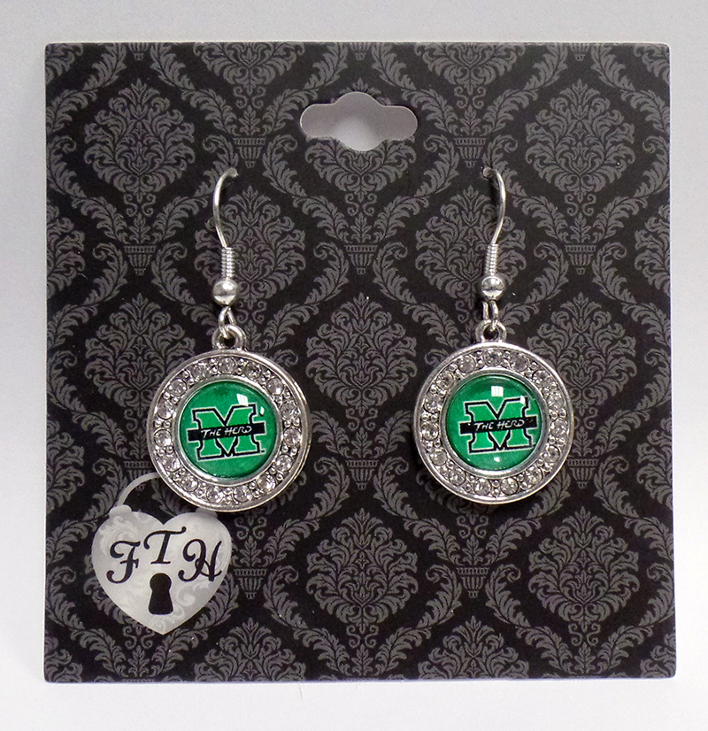 MU Cry Domed Earrings <br> 19905 <br> $12.99