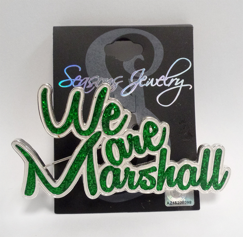 We Are Marshall Pin <br> 19650 <br> $19.99