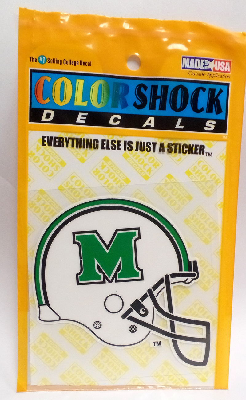 MU Football Helmet Decal <br> $4.99