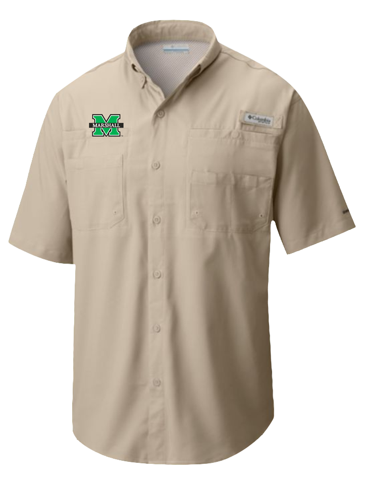 26680 <BR>MU TAMIAMI S/S <BR>BUTTON UP KHAKI <BR>$55.99