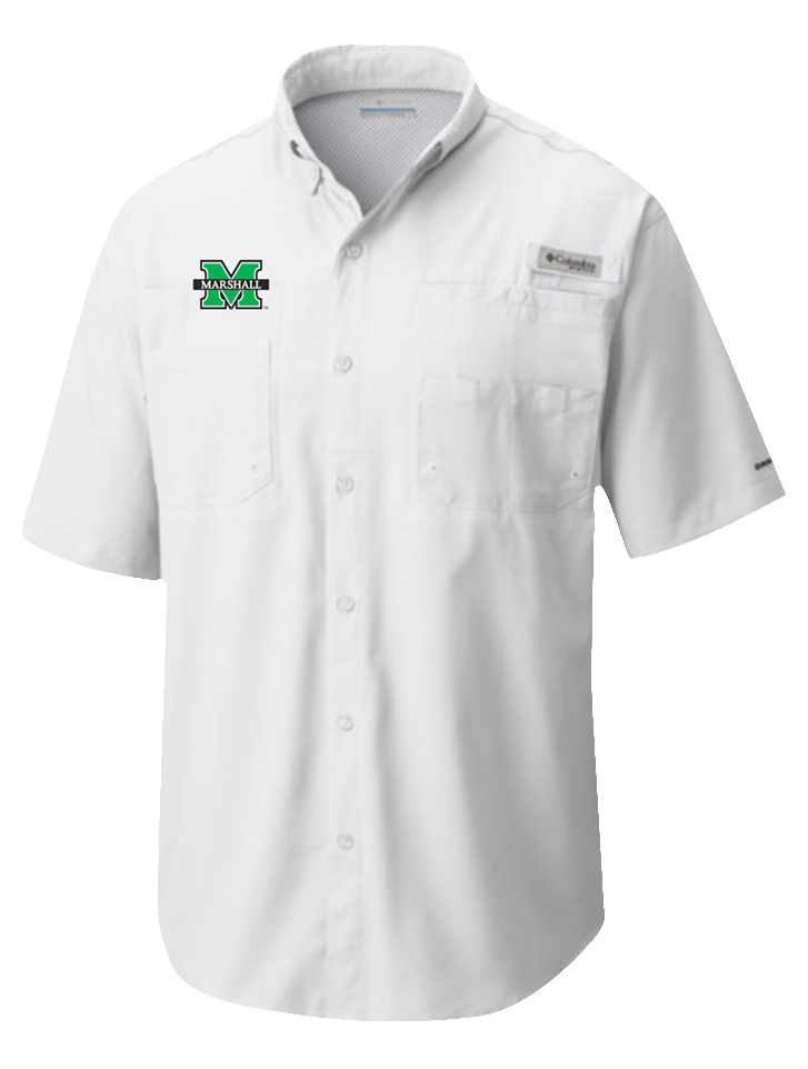 20800 <BR>MU TAMIAMI S/S <BR>BUTTON UP WHITE <BR>$55.99
