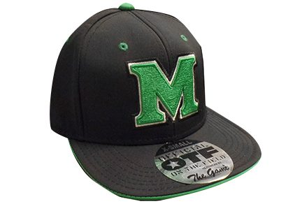 21610 <BR>MU ON FIELD BBALL CAP <BR>$26.99